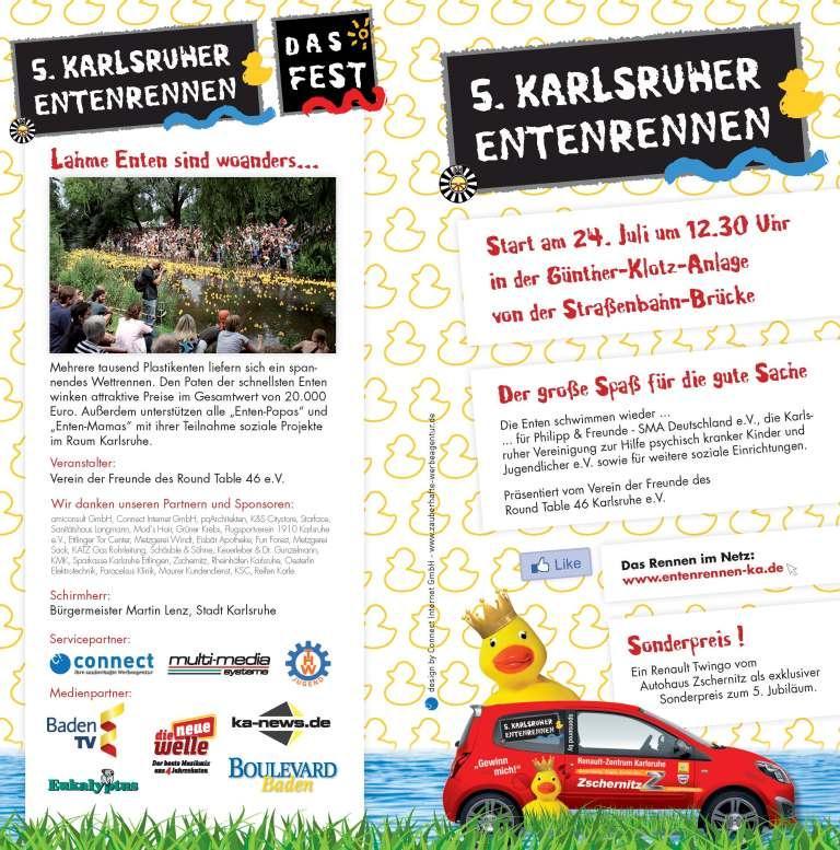 5.Karlsruher Entenrennen